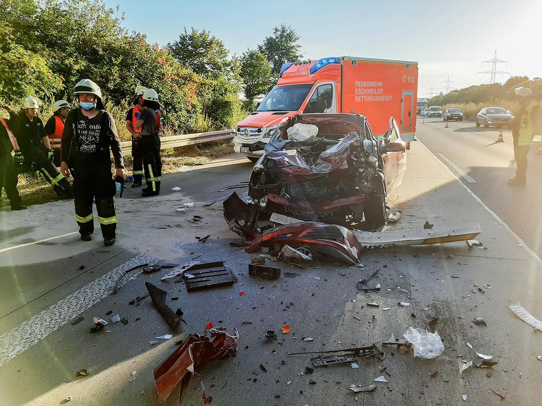 Autobahn A4 Unfall Aktuell